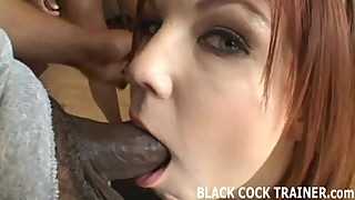 Watch me get gangbanged by four big cocked black studs