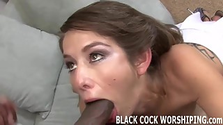 Big black cocks make me so wet