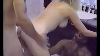 Hot MILF gets fucked in the bathroom