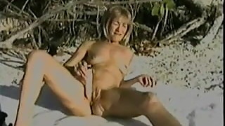 Fav Old IR CUCK Beach Fun