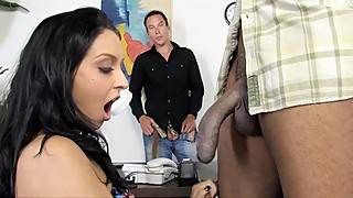 Stephanie Cane Fucks BBC In Front Of Cuckold Husband