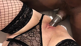 British Mum Fucked by 1st BBC while hubby films