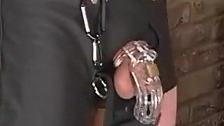 british wife cuckolds her slave husband and humiliates him