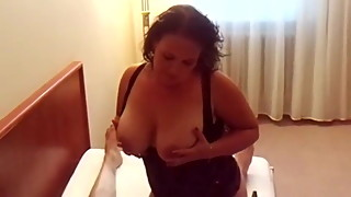Chubby german cuckold wife