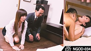 OUR  SON INJURED THE NEIGHBOR GANGSTER' SON - JAV PMV WITH SUBTITLE
