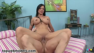 Big Tits MILF Cougar JEWELS JADE Fucked for Cum Swallow! WOW Must See! A++