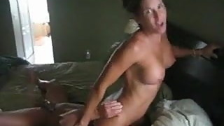 Probably, and sexy hard wife cums fucks bf where