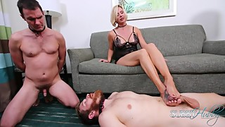 Brianna Punishes Her Cuck 3: FootJob
