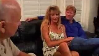 Milf fucked while Husband watching
