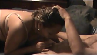 Latina wife cheating and sucking