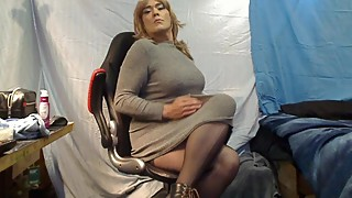 Sharon`s Long night of Edging Pt 1 The Tease