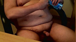 Cuckold playing with his little dick 2 video of his wife getting gangbanged