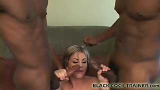 My pussy is going to get beat up by two black dudes