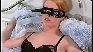 Tied up girl fucked while hubby watches