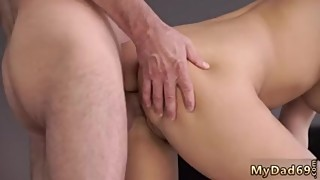 Hardcore s fucking and cum Sleepy boy missed how his father fucks his