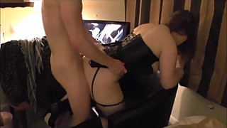 wife gets fucked and spanked