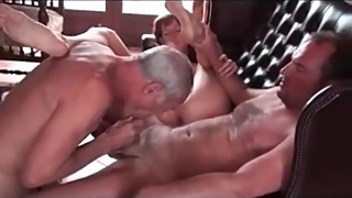 Cuckold Sissy Secret Fucked with strapon and cleans up jizz