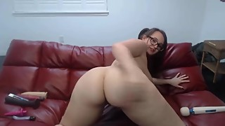 19 loud moaning whooty BBC cuckold Scarlette squirting