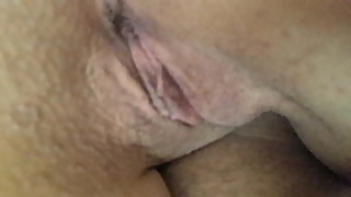 Friend films us,Gf's shaved pussy asshole on me