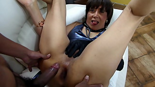 Wild desire for anal sex